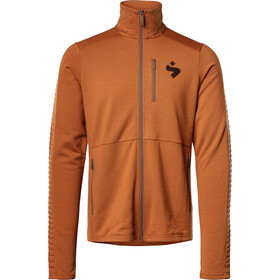 Sweet Protection Crusader Fleece Jacket Herre deep ocher
